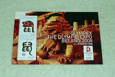 Beijing Olympics [Olympex] miniture sheet - mint unhinged