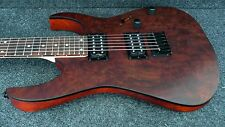 IBANEZ RG421CW-CNF SOLID BODY GUITAR FIXED BRIDGE Claro Walnut top/Mahogany body