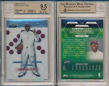 LeBron James Cavs 2003 Topps Finest #178 Rookie Card Rc BGS 9.5 Gem x923
