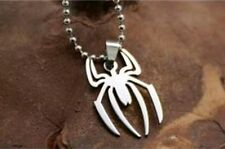 Spider-Man Spider Emblem Necklace Pendant Charm Collectible Comic Movie Gift
