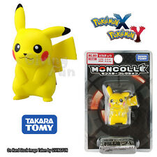 GENUINE TOMY Pokemon MONSTER COLLECTION XY MC-001 4.5cm Pikachu Figure Toy JAPAN