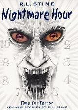 R.L. STINE - NIGHTMARE HOUR: TIME FOR TERROR (HARDCOVER - FIRST)