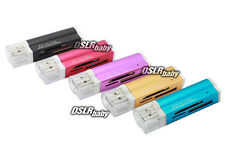 USB 2.0 Memory Card Reader All in 1 Multi for Micro SD SDHC TF M2 MMC MS PRO DUO