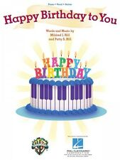 Happy Birthday to You Sheet Music Piano Vocal Guitar Piano Vocal NEW M 000353849