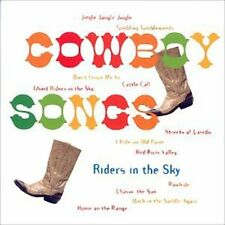 Riders in the Sky - Cowboy Songs [New CD]