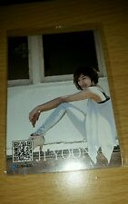 4minute ji yoon official card Kpop k-pop  shipped in toploader (U.S SELLER)