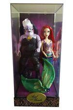 Ariel and Ursula Doll Set - Disney Fairytale Designer Dolls LIMITED EDITION