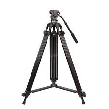 "Professional 64"" Heavy Duty DV Video Camera Tripod with Fluid Pan Head Kit H8D8"