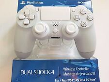 SONY PS4 WHITE & ALL WHITE MODDED RAPID FIRE CONTROLLER, BLACK OPS 3,DESTINY,BF1