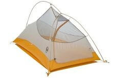 NEW 2016 Big Agnes Fly Creek UL1 Tent: 1-Person 3-Season Ash/Gold One Size