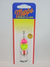 Mepps Aglia 1/6oz Hot Pink Chartreuse Spinner Fishing Lure Salmon Steelhead