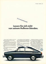 VW-1600TL-Fließheck-1966-Reklame-Werbung-genuine Advertising - nl-Versandhandel