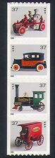 USA 2002 Antique Toys/Train/Fire Engine/Mail Van/Taxi/Transport 4v stp (n33811)