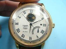 New Old Stock T.W.S. Palio Jumbo 46mm Date 22 Jewels Automatic Auto Men Watch