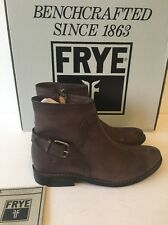 Frye Shirley Shield Short Charcoal Size 6 NIB