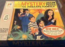 Vintage Monster 1965 ADDAMS FAMILY MYSTERY PUZZLE - Very Nice - Scarce