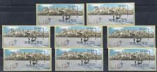 ISRAEL stamps ATM Vending Machine 2008 Exhibition  Jaffa ancient harbor