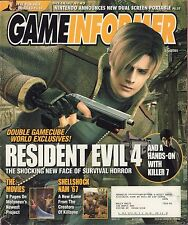 Gameinformer March 2004 Resident Evil 4, The Punisher  w/ML VG 081016DBE