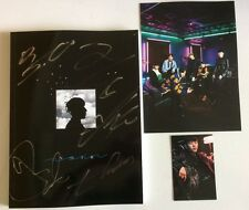 B.A.P BAP 2ND ALBUM NOIR SIGNED BY ALL 5 MEMBERS + DAEHYUN PHOTOCARD 2 +POSTCARD