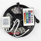 5M SMD 5050 RGB Nonwaterproof LED Strip 300 LEDs Light Flexible 24key IR Remote