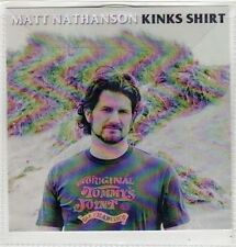 (FJ946) Matt Nathanson, Kinks Shirt - 2014 DJ CD