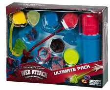 SPIDERMAN GIOCO BATTAGLIA MARVEL THE AMAZING SPIDER-MAN WEB ATTACCO 15pcs regalo di Natale