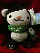 """Official Vancouver 2010 Winter Olympics Miga 9.5"""" Plush Mascot Teddy Toy Stuffy"""