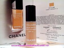 CHANEL Vitalumiere Satin Smoothing Fluid Makeup SPF15 ◆2.5ML◆#20 CLAIR NEW #1017
