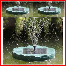 Solar Floating Lily Pad Water Fountain Solar 1.3 W Powered Pond Pool Day Runner