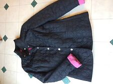 Coach light weight signature coat jacket black / pink -small free shipping