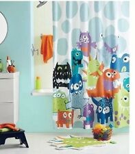 NEW Circo MONSTERS 3 Pc Shower Curtain Multicolor Boys Girls NIP Soap Rug