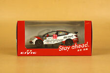 1/43 China Honda civic #10 racer diecast model
