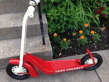 NEW All Original - VINTAGE HAMILTON STEEL PRODUCTS TOY SCOOTER - Original paint