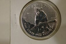 2012 Canada $5 Cougar Silver Commemorative