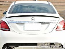 W205 C63 AMG S OE STYLE CARBON FIBER TRUNK SPOILER WING 2015-2016 MERCEDES BENZ