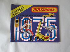 1975 Matchbox 65 Page Collector's Catalog Advertisement Brochure Germany (Minty)