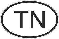 Adesivo adesivi sticker codice auto moto ritagliato nazioni ovale TUNISIA