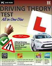 Driving Theory Test All in One Disc 2017 Theory & Hazard Perception DVD ROM