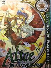 Alice in Cloverland 1 - La Trappola del Bianconiglio-  ed GP Manga