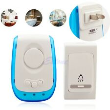 Digital Chime Plug-in Doorbell Door Bell +Remote Control 38 Tone Melody Wireless