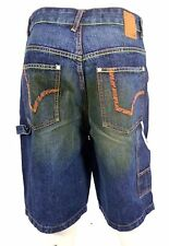 "Triple five Soul Baggy Jeans ""denim short""  32 Shorts dirty blue NEU kurze Hose"
