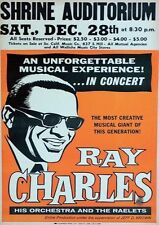 Ray Charles Shrine Aud Repro Gira AFICHE