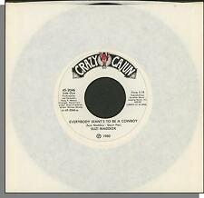 Suzi Maddox - Everybody Wants To Be a Cowboy + Let's Go To Bed Early - 45 RPM
