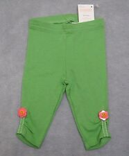 NEW Gymboree size 0-3 M Girls Turtle & Friends Green Leggings Ruching RV $15