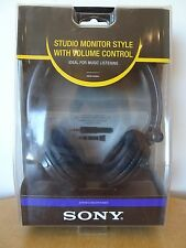 New SONY MDR-V250V  Stereo Headphones - Black
