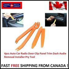 Auto Car Radio Door Clip Panel Trim Dash Audio Removal Installer Pry 4pcs Tool