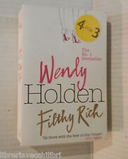 FILTHY RICH Wendy Holden Headline 2008 Inglese libro romanzo narrativa racconto