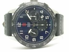 SWISS ARMY AIRBOSS MACH6 LIMITED EDITION BLUE DIAL MENS WATCH 24848