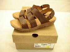 NIB womens 6 born alika brown leather slingback sandals comfort open toe shoes