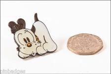 Dog character animal enamel lapel pin badge tie tac